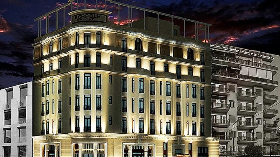 Το ξενοδοχείο Ακροπόλ Παλάς στην Πατησίων