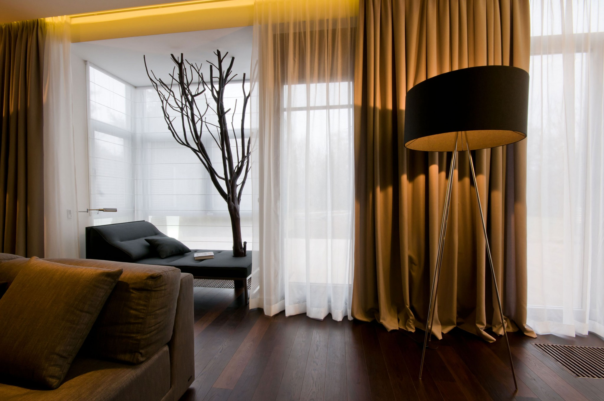 C Concept Brown Curtains Living Room Brown Curtains Ebay