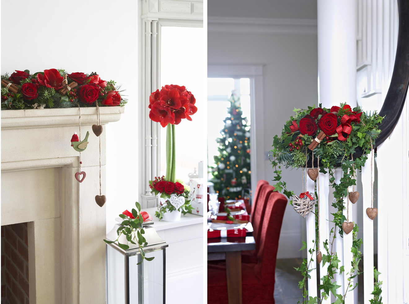 Flowers Home Decoration Christmas Flower Decorations Home Decoration