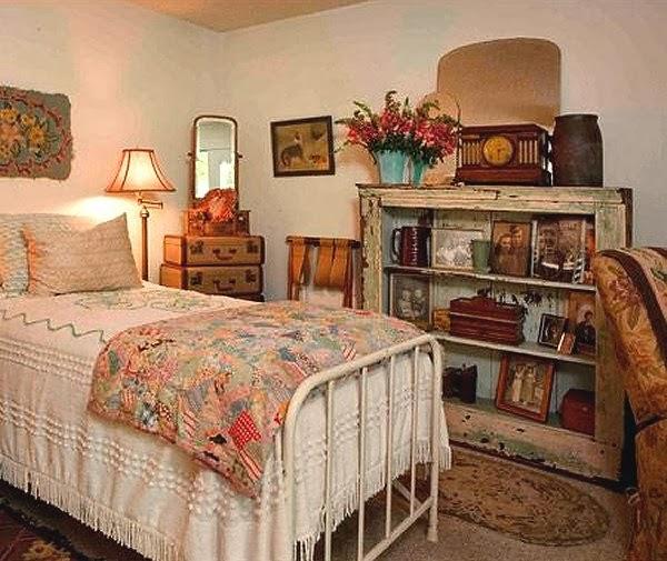 3-vintage-bedroom-decor-ideas | UrbanLife.gr