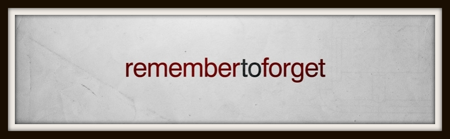 remember_to_forget