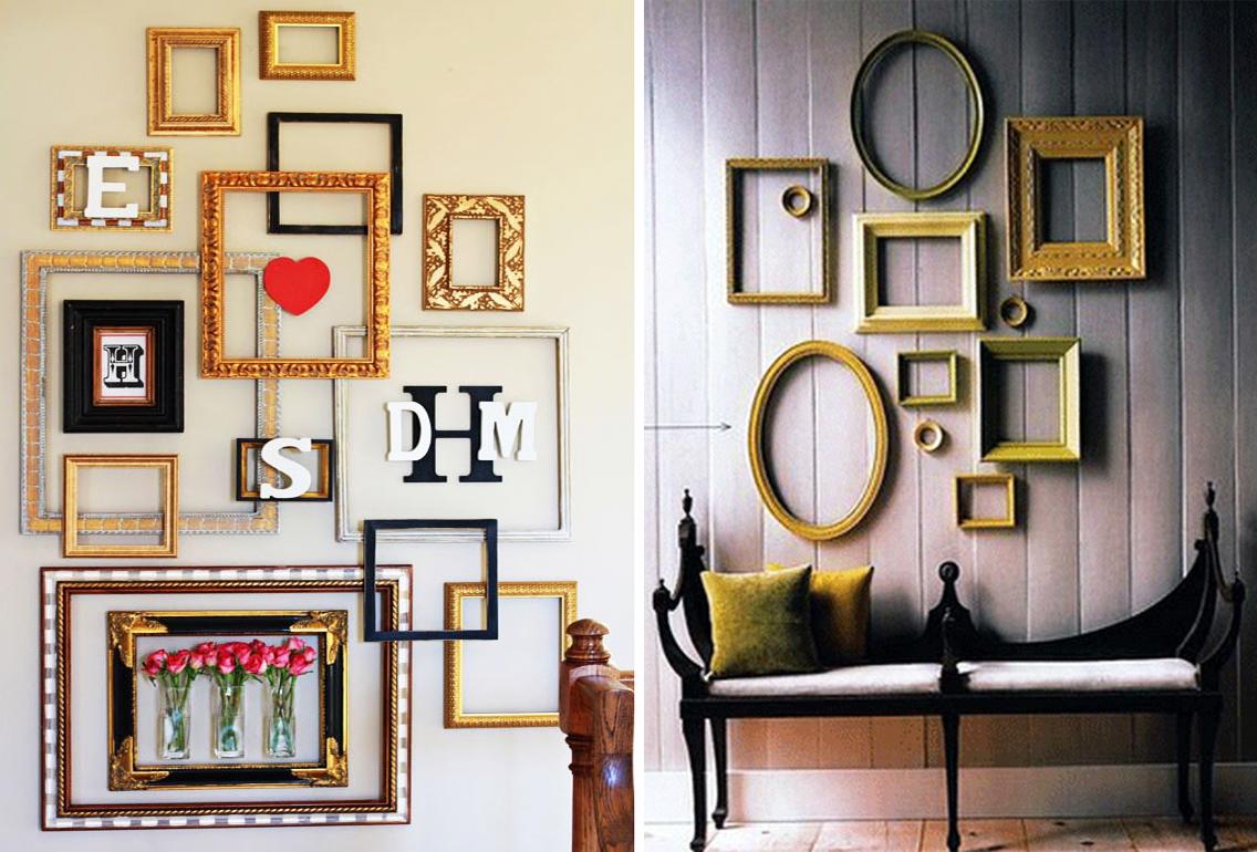 Empty Frames As Wall Decor Urbanlife Gr