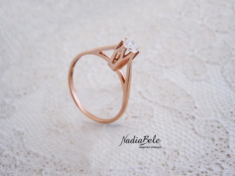 Πολύτιμες συμβουλές γάμου by NadiaBele - Μονόπετρο δαχτυλίδι