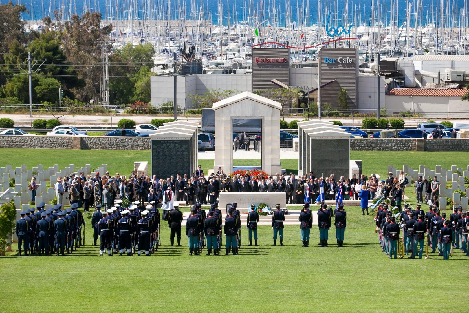 Πολεμικό κοιμητήριο Φαλήρου