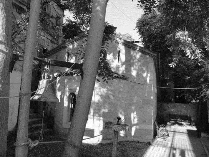 Ο ναός του Αγίου Ελισσαίου, στο Μοναστηράκι