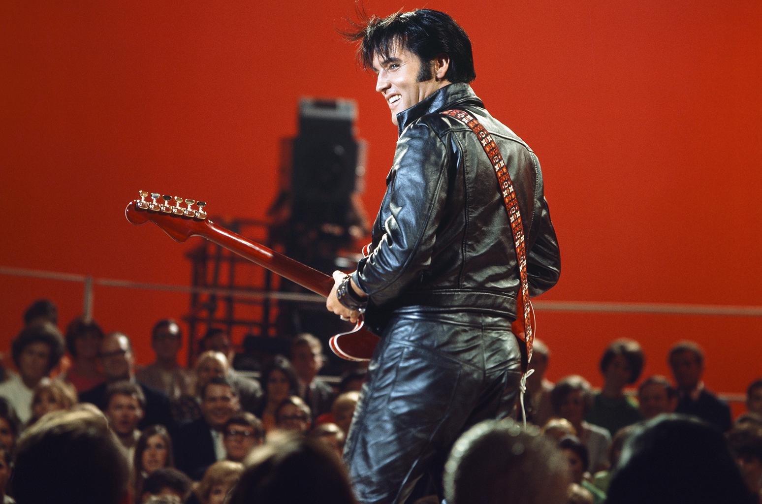 Elvis Presley has left the building