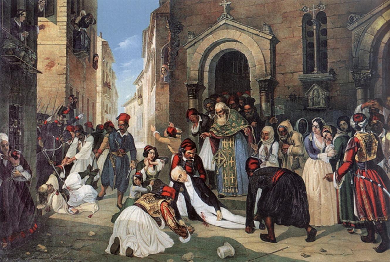 27 Σεπτεμβρίου 1831 δολοφονείται ο Ιωάννης Καποδίστριας