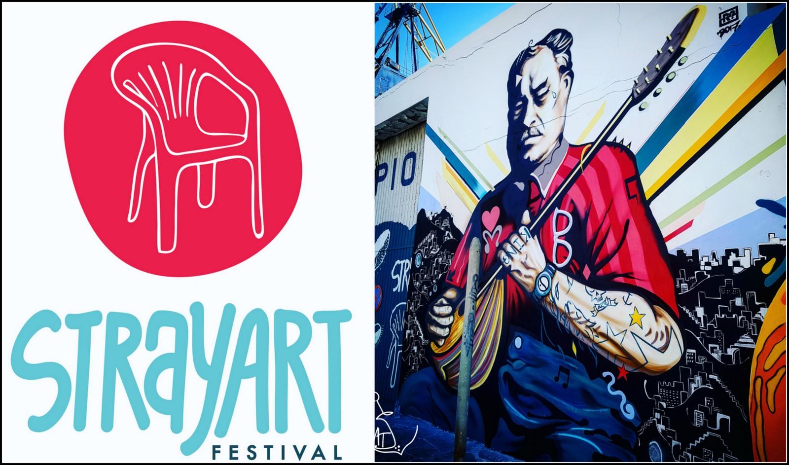 Stray Art Festival - Στόχος και όνειρο, είναι να μην μείνει ένα απλό event αλλά μια περιπλανώμενη γιορτή