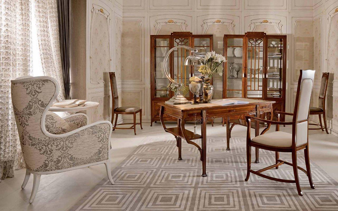 Art-Nouveau-Living-room-interior-design