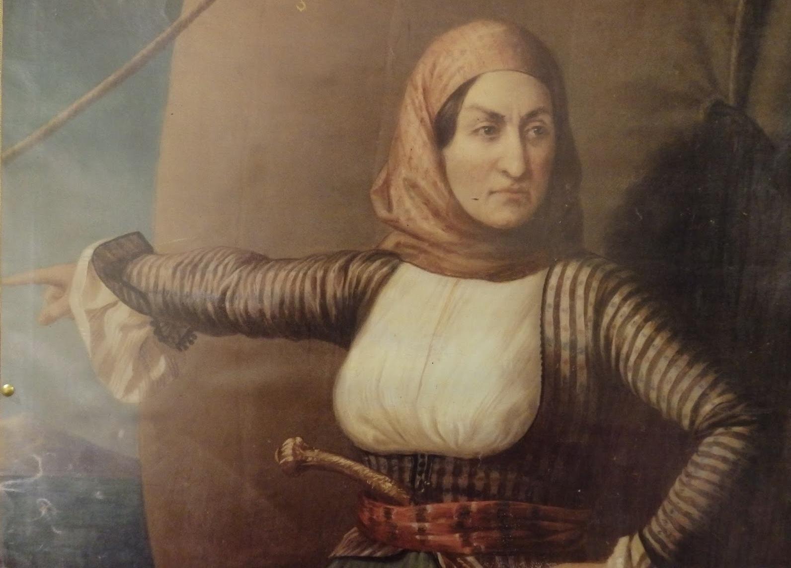 Η Λασκαρίνα Μπουμπουλίνα είναι μια από τις εννέα πιο σκληροτράχηλες γυναίκες της ιστορίας