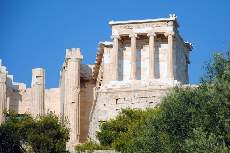 Ο ναός της Αθηνάς Νίκης στην Ακρόπολη