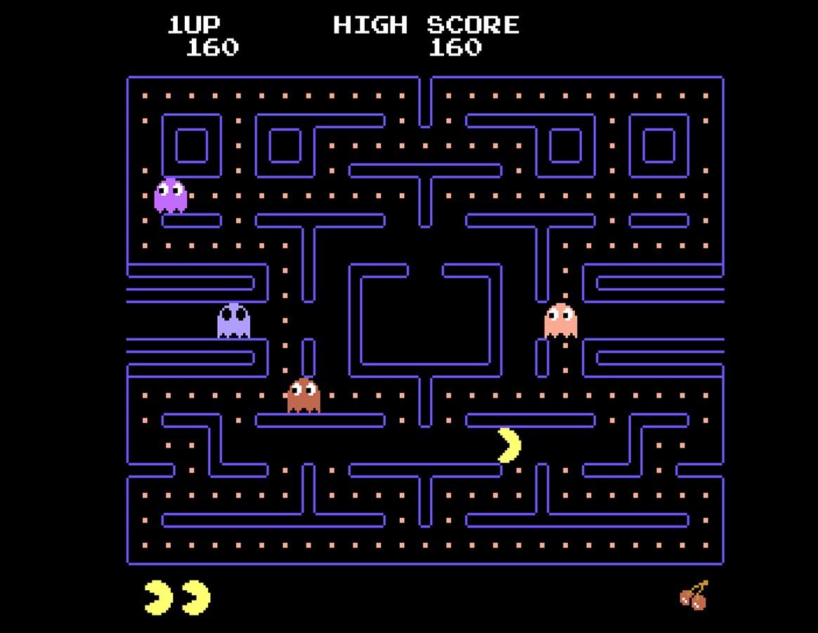 Έχεις παίξει Pac-Man;