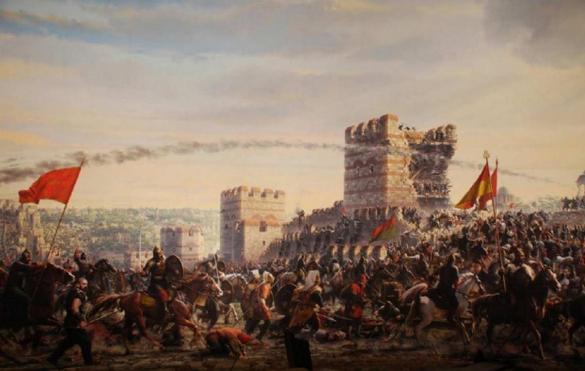 ΗΆλωση της Κωνσταντινούπολης το 1453