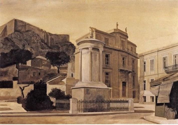 Το Μνημείο Λυσικράτους στην Πλάκα