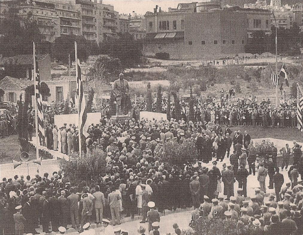 Το άγαλμα του Τρούμαν στην περιοχή της Ρηγίλλης