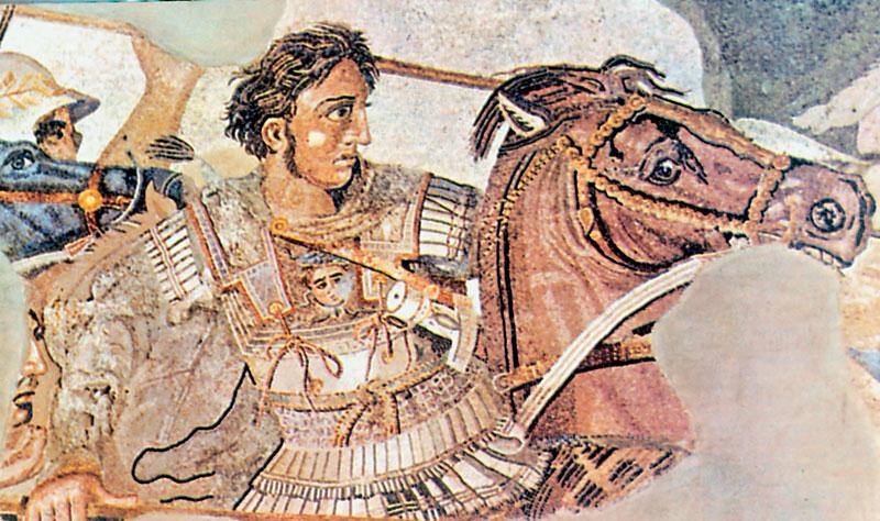Μέγας Αλέξανδρος, ο μέγας στρατηλάτης