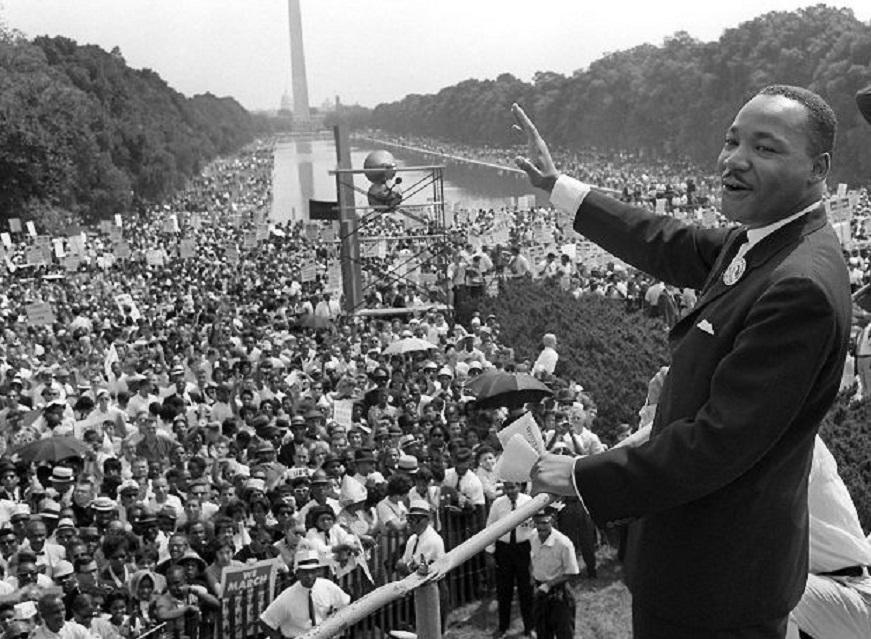 Ο Μάρτιν Λούθερ Κινγκ, είχε ένα όνειρο..