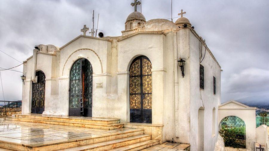 Ο Ιερός Ναός του Αγίου Γεωργίου στο λόφο του Λυκαβηττού