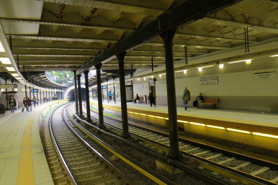 Ο σιδηροδρομικός σταθμός Μοναστηρακίου