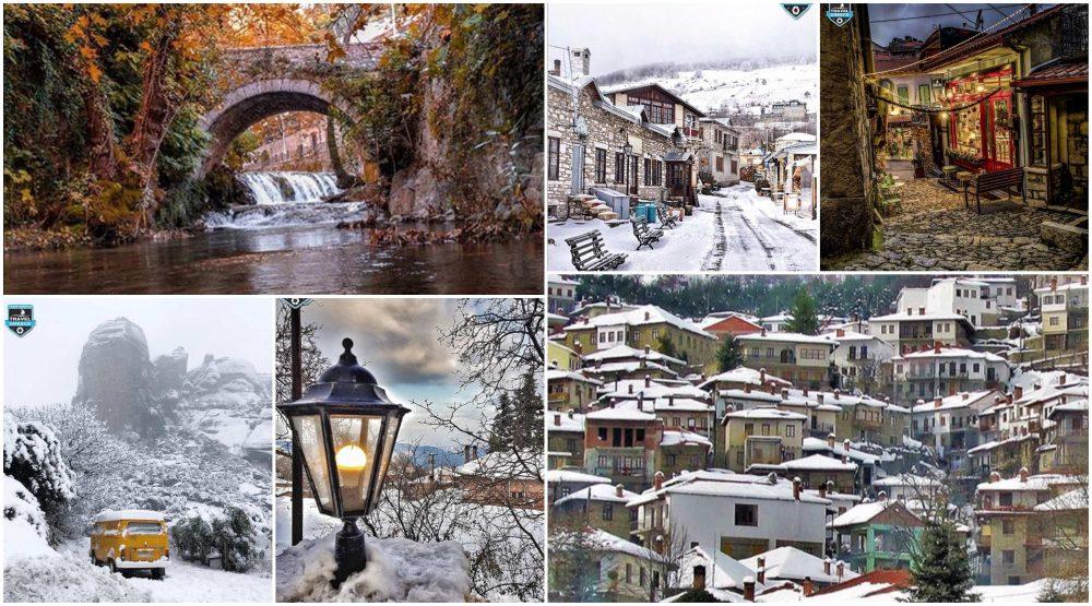 Η ομορφιά της Ελλάδας μέσα στο χειμώνα μέσα από τα social media