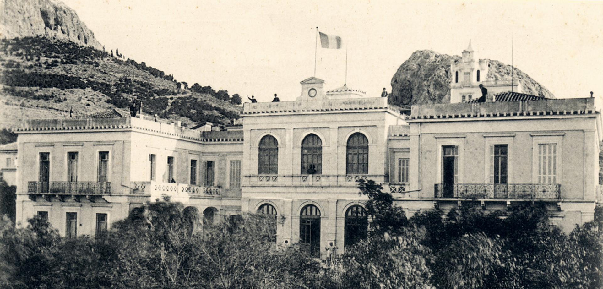 Η Γαλλική Σχολή Αθηνών στο Κολωνάκι