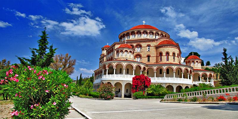 Το Μοναστήρι του Αγίου Νεκταρίου στην Αίγινα