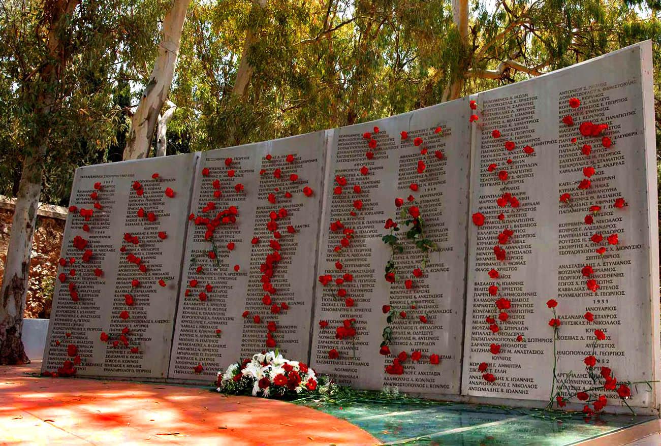 Μνημείο Εκτελεσμένων στο Γουδί