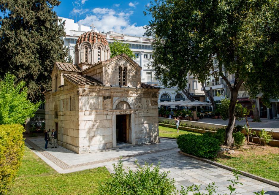 Το παρεκκλησι της Μητρόπολης Αθηνών