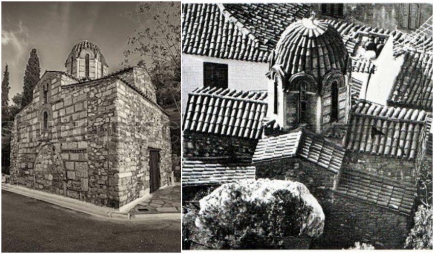 Ο ναός της Μεταμορφώσεως Σωτήρος Πλάκας