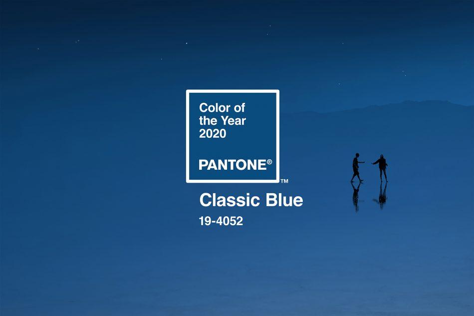 To χρώμα για το 2020 είναι το Classic Blue