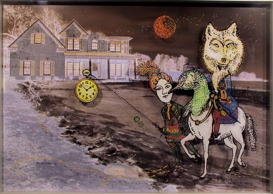 Man on the Moon - Ομαδική έκθεση στην Cube Gallery στην Πάτρα